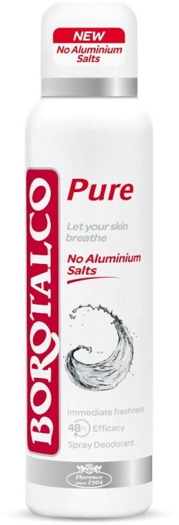 Dezodorant w sprayu - Borotalco Pure Deodorant Spray — фото N1