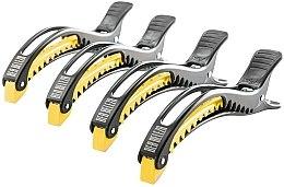 Kup Zaciski do włosów, czarno-żółte - Dajuja Penguin Clip Black-Yellow
