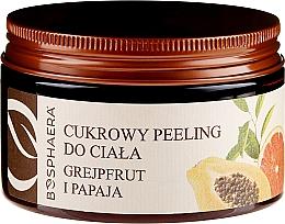 Kup Peeling cukrowy do ciała Grejpfrut i papaja - Bosphaera