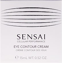 Kup Bogaty krem nawilżający i odżywiający skórę wokół oczu - Kanebo Sensai Cellular Performance Eye Contour Cream