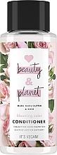 Kup Odżywka do włosów farbowanych Masło muru muru i olejek różany - Love Beauty&Planet Muru Muru Butter & Rose Conditioner