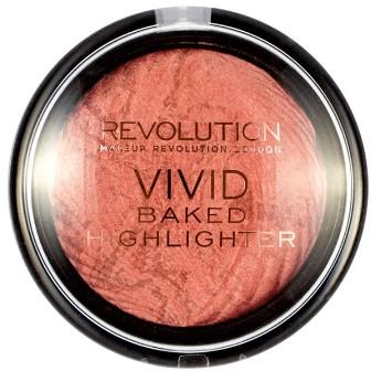 Wypiekany rozświetlacz do twarzy - Makeup Revolution Vivid Baked Highlighter