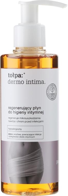 Regenerujący płyn do higieny intymnej - Tołpa Dermo Intima