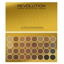 Kup Paleta cieni do powiek (32 odcienie) - Makeup Revolution Ultra 32 Shade Palette Beyond Flawless
