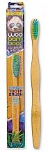 Kup Szczoteczka do zębów dla dzieci, miękka, zielono-niebieska - Woobamboo Toothbrush Kids Zero Waste