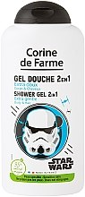 Kup Szampon i żel pod prysznic 2 w 1 Gwiezdne wojny - Corine de Farme Star Wars Shower Gel 2in1 Body And Hair