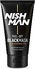 Kup Maska peel-off do twarzy - Nishman Peel-Off Black Mask