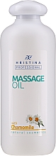 Kup Olejek do masażu z rumiankiem - Hristina Professional Chamomile Massage Oil