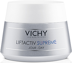 Kup PRZECENA! Ujędrniający krem przeciwzmarszczkowy do skóry normalnej i mieszanej Adenozyna i kofeina - Vichy Liftactiv Supreme *