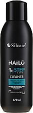 Kup Profesjonalny płyn do odtłuszczania naturalnej płytki paznokcia - Silcare Nailo 1st Step Nail Cleaner