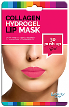 Kup Kolagenowa hydrożelowa maska do ust - Beauty Face 3D Push-Up Collagen Hydrogel Lip Mask