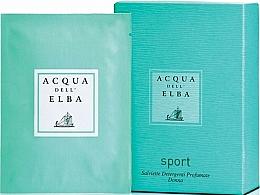 Kup Acqua Dell Elba Sport Perfumed Refreshing Wet Wipes - Perfumowane chusteczki nawilżające