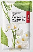 Kup Maska na tkaninie do twarzy z lilią - Manefit Beauty Planner Lily Whitening + Brightening Mask