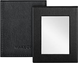 Kup Składane lusterko kieszonkowe, czarne - MakeUp Pocket Mirror Black