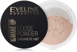 Sypki puder matujący do twarzy - Eveline Cosmetics Loose Powder Cashmere Mat — фото N1