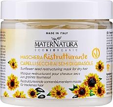 Kup Regenerująca maska odżywcza do włosów - MaterNatura Sunflower Seeds Restoring Mask
