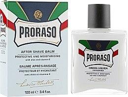 Kup Ochronny balsam nawilżający po goleniu z aloesem i witaminą E - Proraso Blue Line After Shave Balm