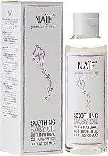 Kup Kojący olejek dla dzieci z naturalnym ekstraktem z nasion bawełny - Naif Baby Soothing Baby Massage Oil