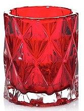 Kup Świecznik, czerwony - Yankee Candle Red Fractal Tea Light Holder