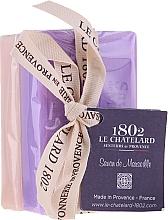 Kup Zestaw - Le Chatelard 1802 Lavanda&Jasmin (soap/100g + soap/100g)