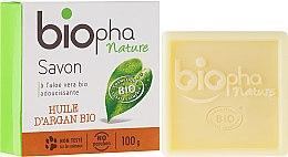 Kup Naturalne mydło w kostce z olejem arganowym - Biopha Organic Soap Organic Argan Oil