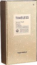 Kup Zestaw - Tony Moly Timeless Ferment Snail Essence Gift Set (essence 50 ml + toner 20 ml + emul 20 ml)