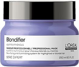 Kup Regenerująca maska chroniąca blask włosów - L'Oreal Professionnel Serie Expert Blondifier Masque