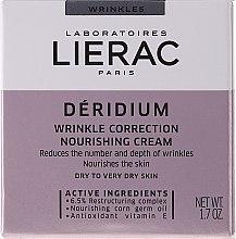 Kup Odżywczy krem korygujący zmarszczki do skóry suchej i bardzo suchej - Lierac Déridium