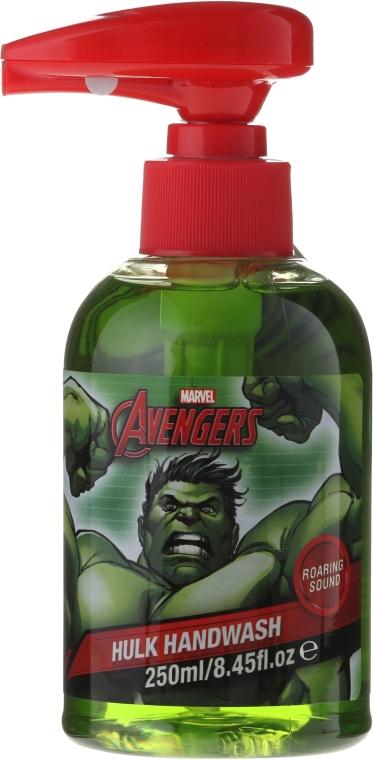 Mydło w płynie do rąk dla dzieci - Marvel Avengers Hulk Handwash — фото N1