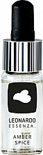 Kup Esencja do dyfuzora zapachowego, Amber Spice - Leonardo Fragrance Amber Spice