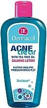 Kup Łagodzący płyn oczyszczający do skóry problematycznej - Dermacol AcneClear Calming Lotion