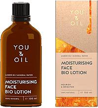 Kup PRZECENA! Nawilżający balsam do twarzy - You & Oil Moisturising Face Bio Lotion Amber Oil+Mineral Water *