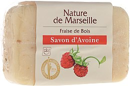 Kup Mydło owsiane o zapachu dzikich poziomek - Nature de Marseille Soap