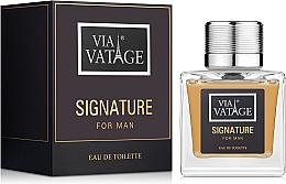 Via Vatage Signature - Woda toaletowa — фото N2
