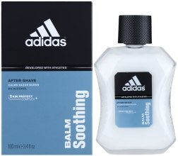 Łagodzący balsam po goleniu - Adidas Skincare After Shave Balm Soothing — фото N1