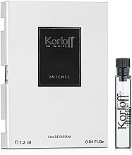 Kup Korloff Paris In White Intense - Woda perfumowana (próbka)