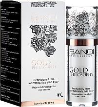 Kup Peptydowy krem odmładzający pod oczy - Bandi Professional Gold Philosophy