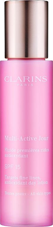 Przeciwzmarszczkowy lotion na dzień SPF 15 - Clarins Multi-Active Antioxidant Day Lotion SPF 15 — фото N1