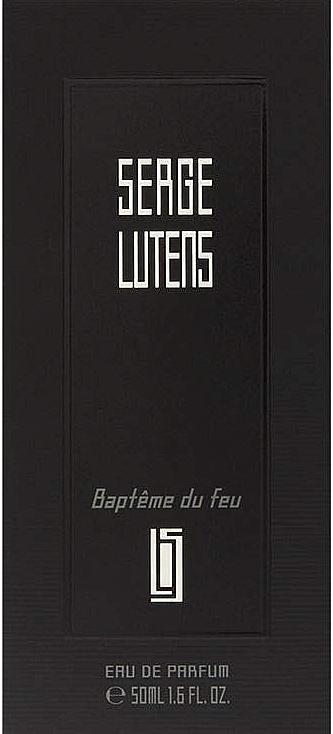 Serge Lutens Baptȇme du Feu - Woda perfumowana — фото N4