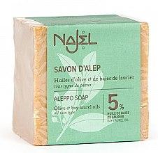 Kup Mydło aleppo w kostce z oliwą 5% - Najel Savon d'Alep Aleppo Soap