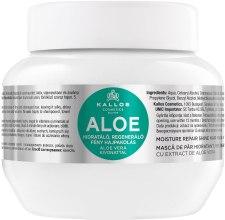 Kup Nawilżająca maska regenerująca do włosów Aloe - Kallos Cosmetics Moisture Repair Aloe Hair Mask