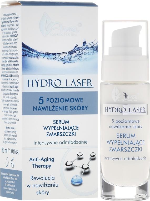Serum wypełniające zmarszczki Intensywne odmładzanie - AVA Laboratorium Hydro Laser