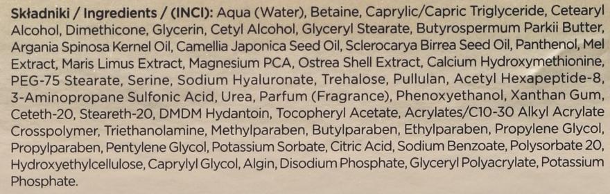 Napinający krem-kuracja przeciwzmarszczkowy do twarzy - Eveline Cosmetics Bio Manuka Bee Lift-tox 50+ — фото N4