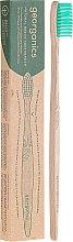 Kup Bambusowa szczoteczka do zębów, średnia twardość, zielona - Georganics Bamboo Medium Toothbrush Green
