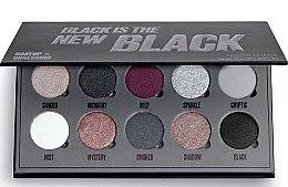 Kup Paleta cieni do powiek - Makeup Obsession Black Is The New Black