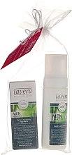 Zestaw dla mężczyzn - Lavera Men Sensitiv (foam 150 ml + ash/balm 50 ml) — фото N1