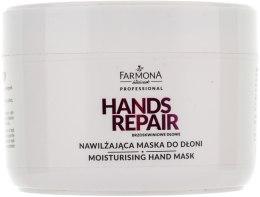 Kup Nawilżająca maska do dłoni - Farmona Professional Hands Repair Brzoskwiniowe dłonie
