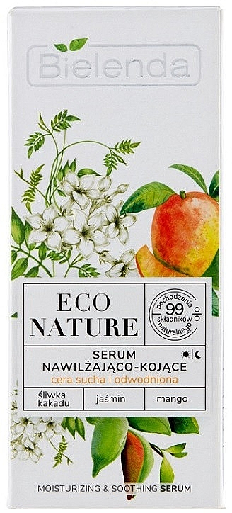 Serum w witaminą C - Bielenda Eco Nature Kakadu Plum, Jasmine and Mango