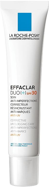 Krem zwalczający niedoskonałości skóry SPF 30 - La Roche-Posay Effaclar Duo (+) — фото N1