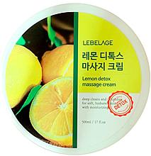 Kup Krem do masażu ciała z cytryną - Lebelage Lemon Detox Massage Cream